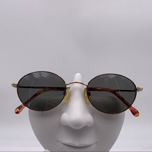 Vintage Liberty G4011 Gold Oval Sunglasses Frames